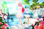 【今日のYYBルカさん】輝きの水辺…♡