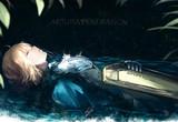 大樹の下で眠る。