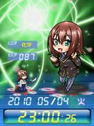 ◆バカとテストと召喚獣 木下秀吉 待受Flash時計