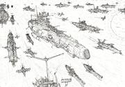 堂々たる大英艦隊
