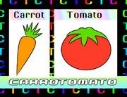 人参とトマト (キャロットマト)