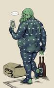 こんな神話生物はイヤだ「ZOZOスーツを着てみたクトゥルフ」