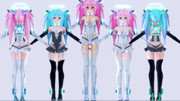 【MMD】Nanoko v2.0 Digitrevx