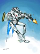 オリジナルスーパーロボット「BA6M-28Go」