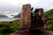 北方領土 新知島(しむしるとう)  放置された潛水艦基地の痕跡