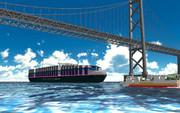 【モデル配布】メガコンテナ船HNC NEGIYAKI
