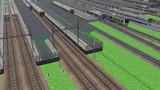 RailSim2k で 大型駅