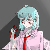 絶望したレミリア