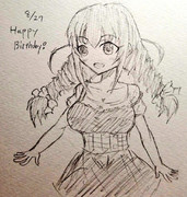 さとみちゃん誕生日おめでとう!