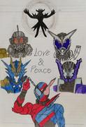愛と平和のために