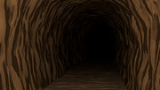 【フリー背景素材】洞窟の中