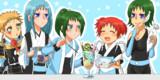 五姉妹アイスパフェ