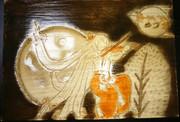 【東方ニコ楽祭・月見】満月の熱き演奏会を彫ってみた