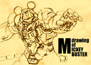drawing of MICKEY BUSTER