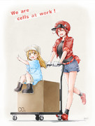 We are cells at work!
