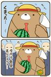毎日が夏休みのクマ。