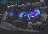 【大洋丸探索】 大4ポイント 謎の構造物 全体予想図【ソナー画像】その2