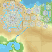 【CitiesSkylines】六角形の区画だけで街をつくる_Ep19_MEGA-HEXA完成