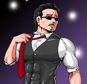 桜井賢はネクタイを緩めた!本気を出そうとしている