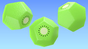 十二面体のキウイ