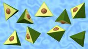四面体のアボカド