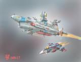 リ・サラミス級汎用巡洋艦「ジャッキーカード」
