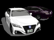【MMD】トヨタ・クラウン 2.0RSアドバンス (ベータ版)【モデル配布あり】