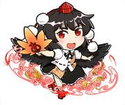射命丸文(コトダマン風)
