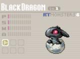 【RT Monsters】BlackDragon Lv.1
