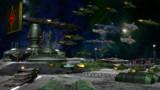 月基地に再集結中の艦隊