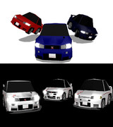 チョロQ GT-R(HD版)セット&nismo風GT-R(HD版)セット 配布