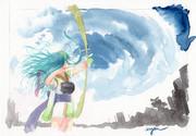 台風VSずん子ちゃん