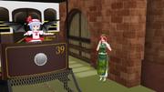 紅魔館に電車が来た