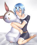 抱き枕イオちゃん【イオの日】