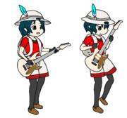 ギターかばんちゃんPNG