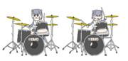 ドラムカワウソPNG