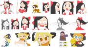 【クッキー☆素材カタログ】クソクリ色塗り素材