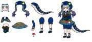 コモドドラゴン(新)PNG