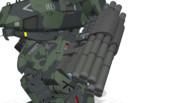 しんそーび:8連対地/対空ミサイルランチャー