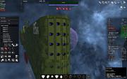 改修中の自由惑星同盟軍第5艦隊旗艦 リオ・グランデ その3