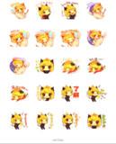 【 LINEスタンプ】なのぷの猫耳少女【 発売中!!】2