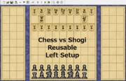 【変則将棋】チェス(左配置)vs将棋<再利用あり>【対局】