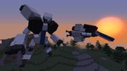 【Minecraft】人型変形機最終形【JointBlock】