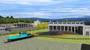 【RailSim】機関庫のある公園