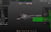 Colonial Viper Mk-II その2 :GALACTICA/ギャラクティカ