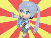 【MMDテクスチャ配布】ミクダヨーさんVer. 2.01専用 差替え用テクスチャ「雪ミクさん」