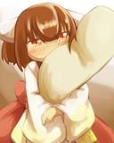 きりたんは一緒に寝たい。