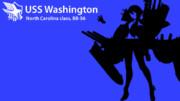 アズールレーン iPod風壁紙「ワシントン」