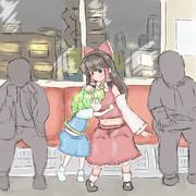 電車でNELに抱きつくぢゆし