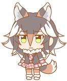 ぱびぱびユーコンオオカミちゃん